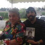 Jay with Canadian Heavyweight George Chuvalo
