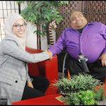 Keep Pushin's host, Sujit, with guest, Sukaina Dada