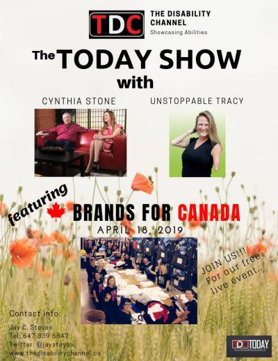 Today Show Featuring Brands for Canada