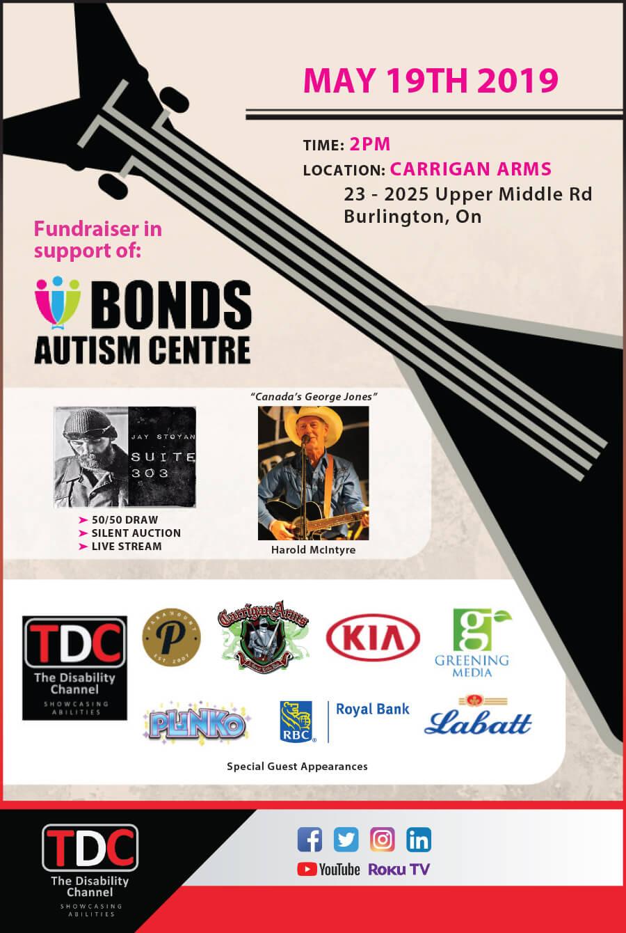 Bond Autism Fund event