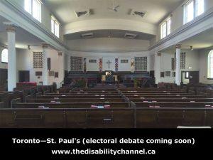 Toronto—St. Paul's (electoral debate coming soon)