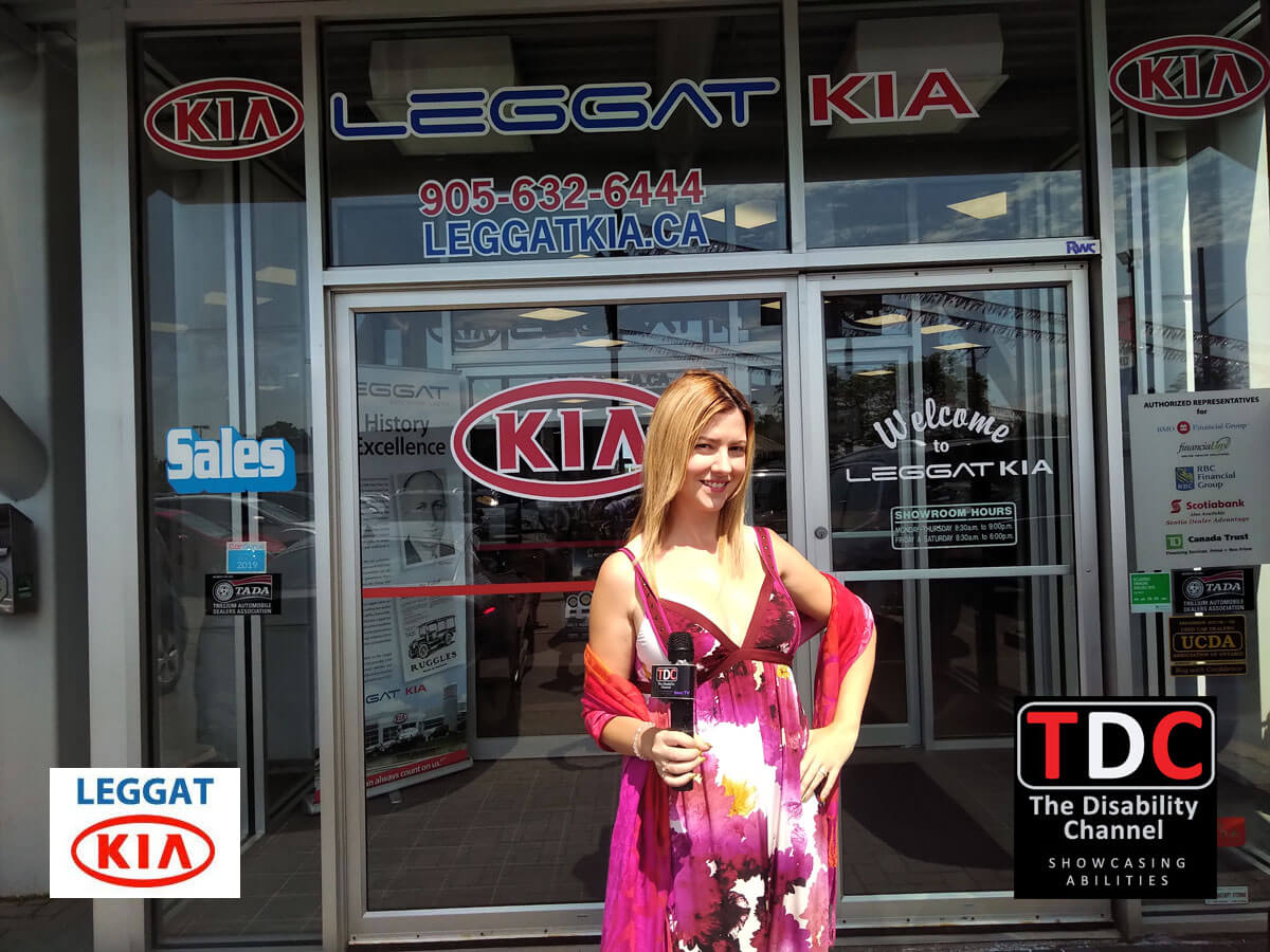 TDC at Leggat Maza Burlington Host Cynthia out front