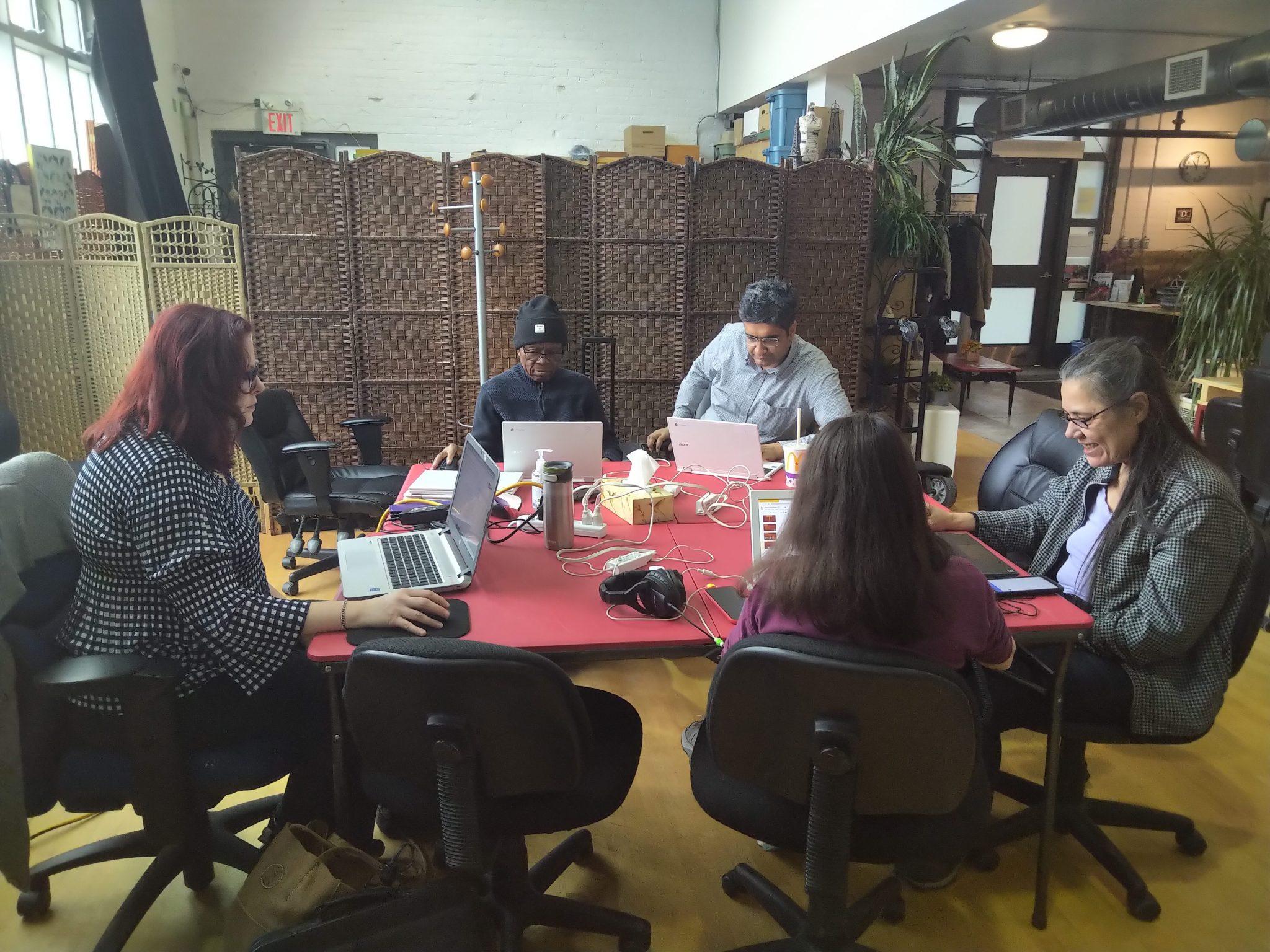 Digital Mentoring Program in progress