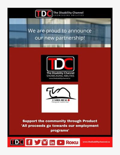 TDC Camel Company partnership