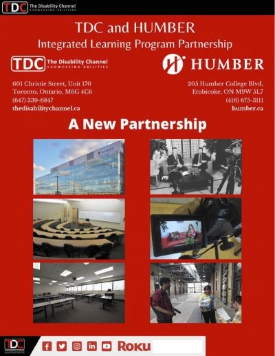 TDC and Humber College - Intergrated Learning Program Partnership