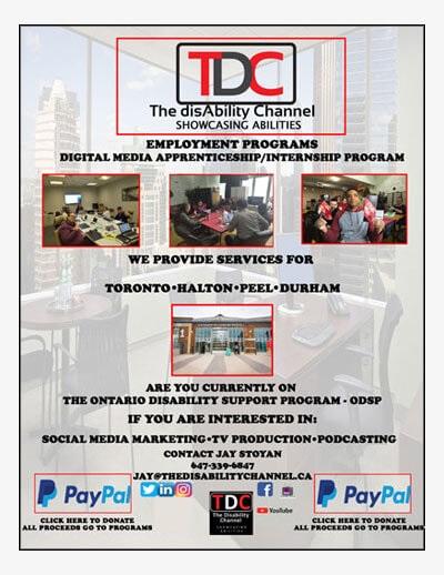 Employment Programs - Toronto, Halton, Peel, Durham flyer