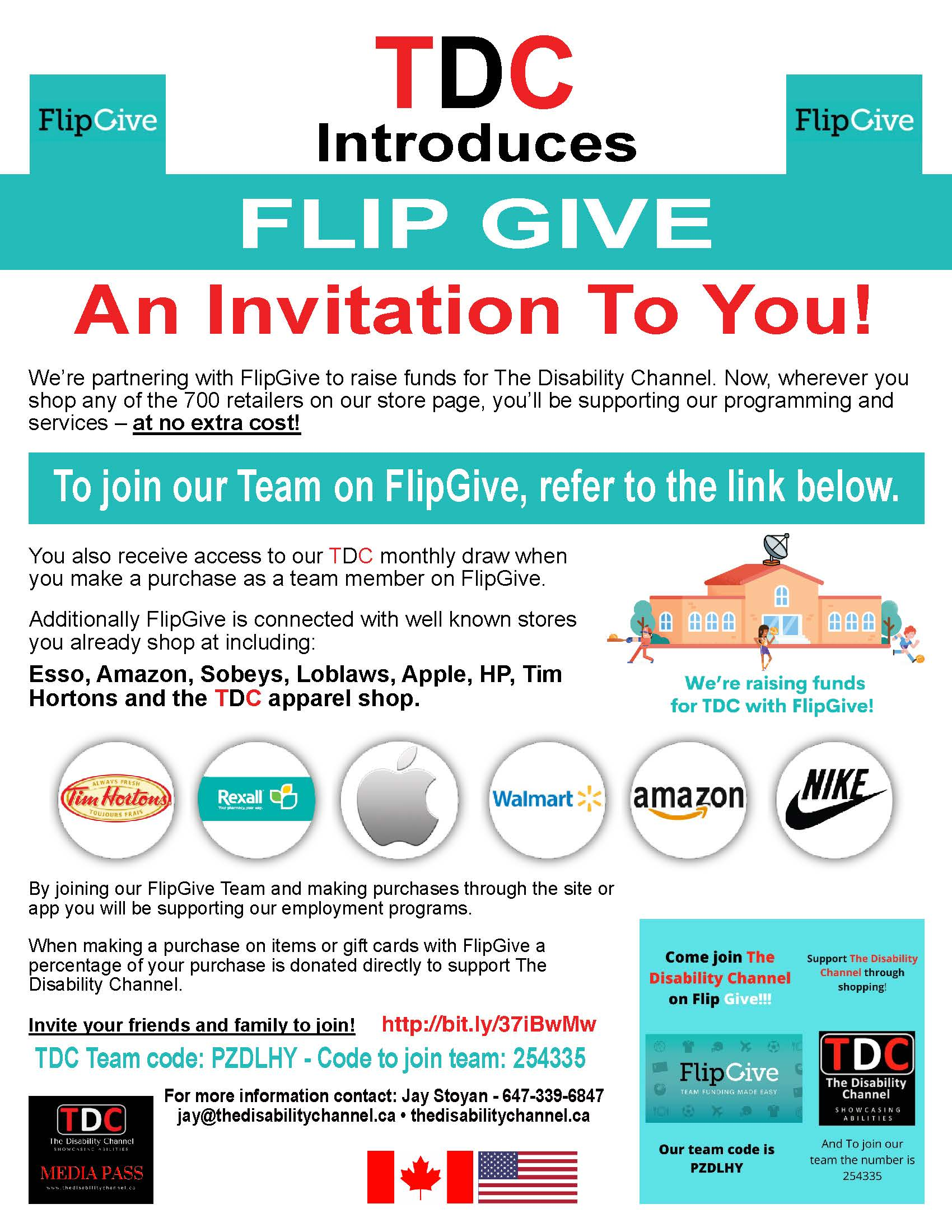 TDC Introduces FLIP GIVE An Invitation To You! Refer to the link below