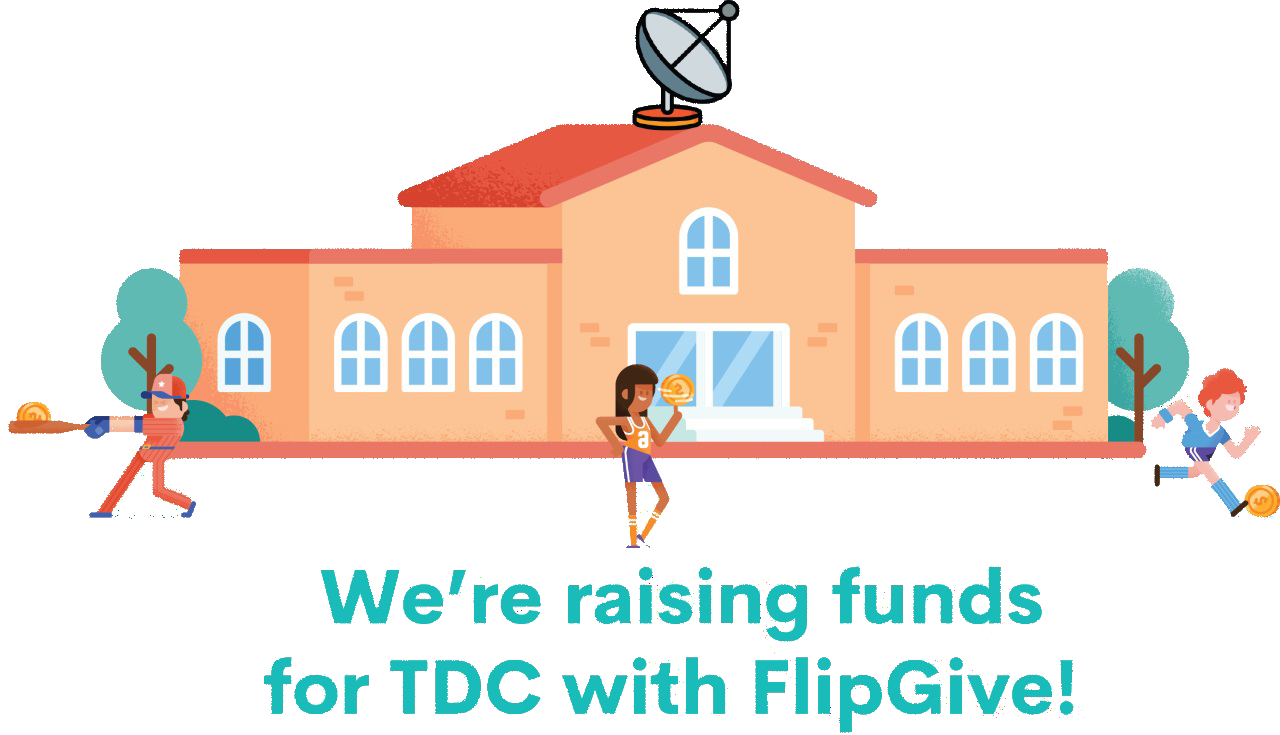 We're raiasing funds for TDC with FlipGive! Header